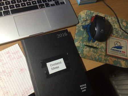 content-idea-diary